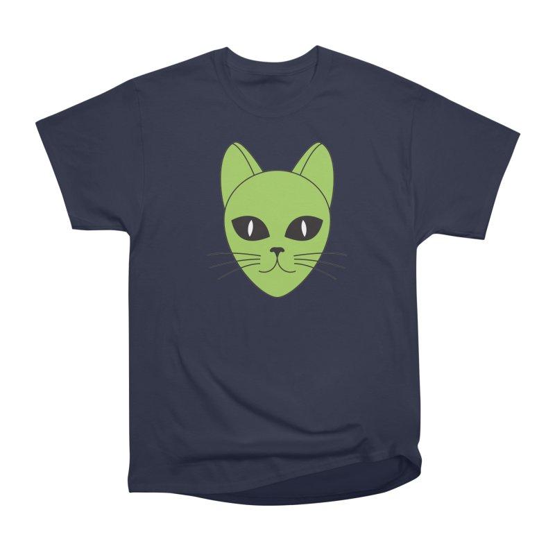 ALIEN CAT Men's Classic T-Shirt by CAT IN ORBIT Artist Shop
