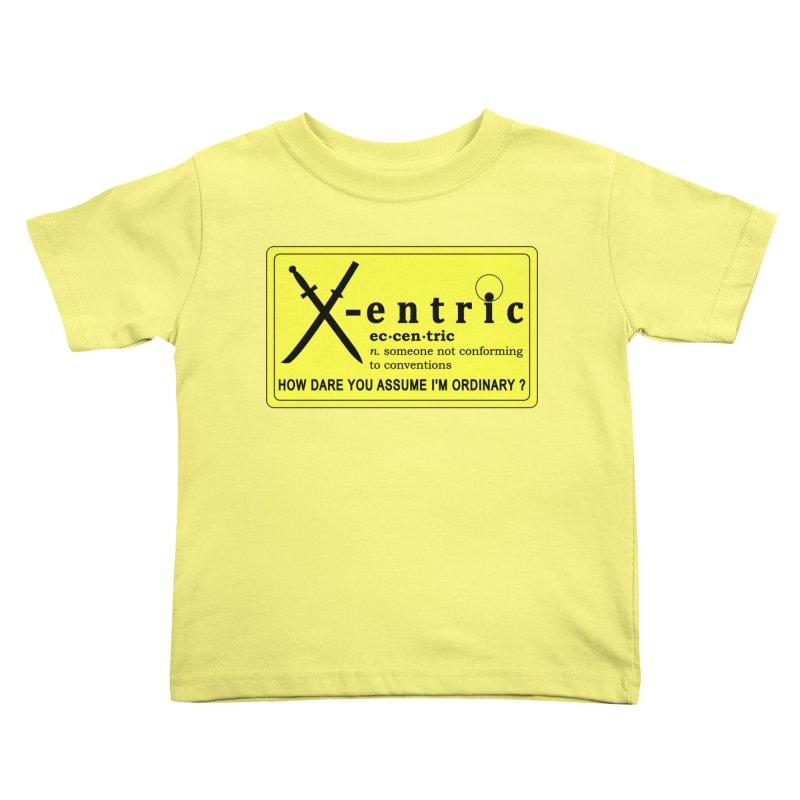 ECCENTRIC Kids Toddler T-Shirt by CAT IN ORBIT Artist Shop