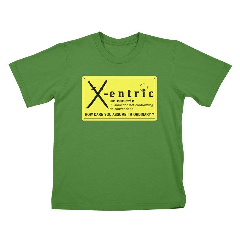 ECCENTRIC Kids T-Shirt by CAT IN ORBIT Artist Shop
