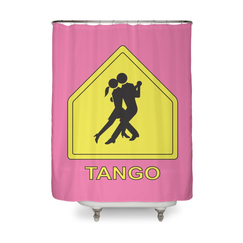 TANGO ZONE Home Shower Curtain by CAT IN ORBIT Artist Shop