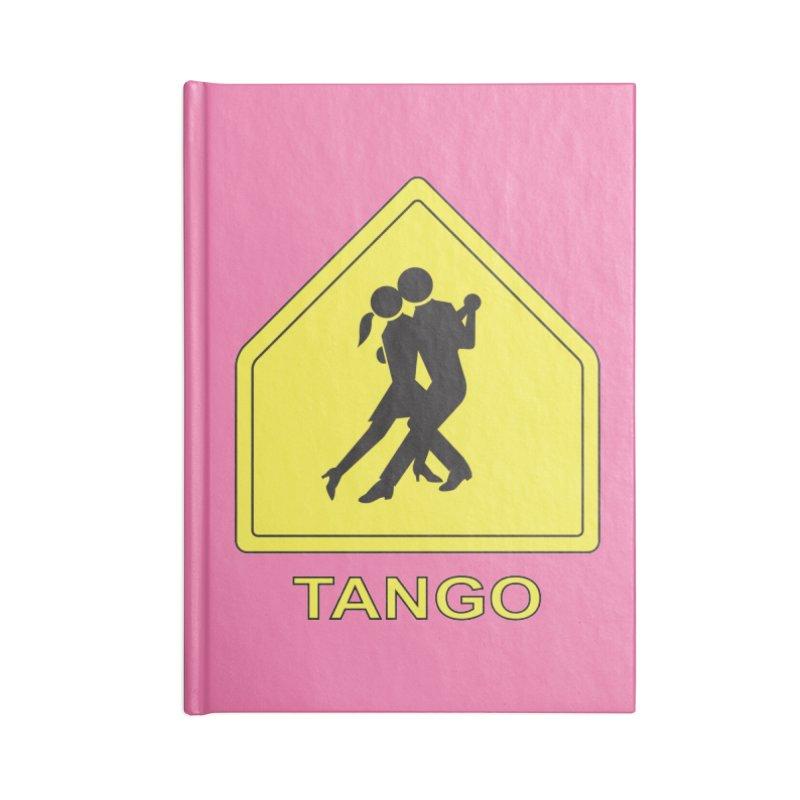TANGO ZONE Accessories Notebook by CAT IN ORBIT Artist Shop