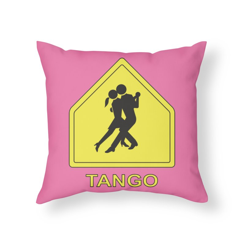 TANGO ZONE Home Throw Pillow by CAT IN ORBIT Artist Shop
