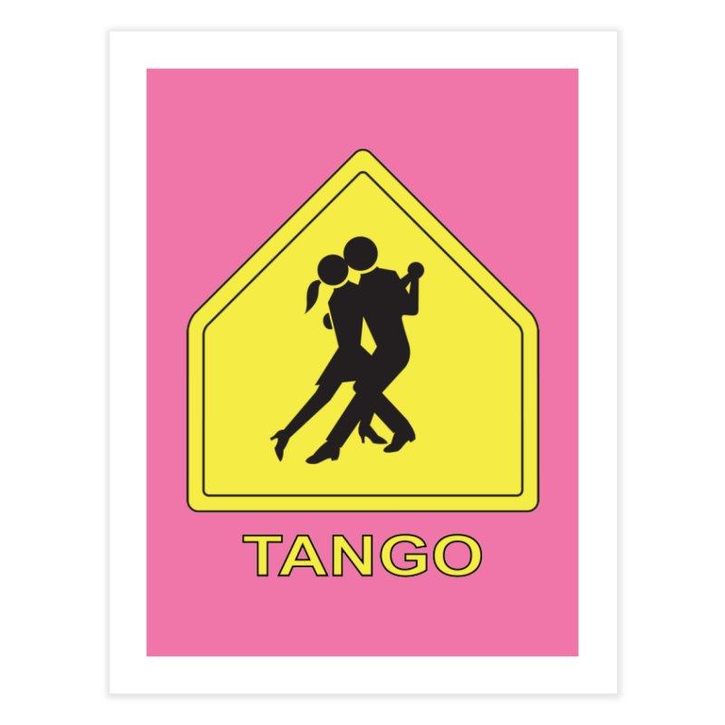 TANGO ZONE Home Fine Art Print by CAT IN ORBIT Artist Shop