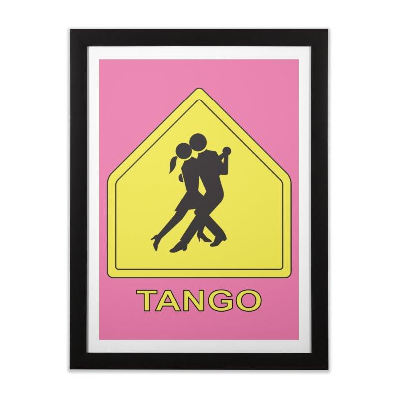 TANGO ZONE Home Framed Fine Art Print by CAT IN ORBIT Artist Shop