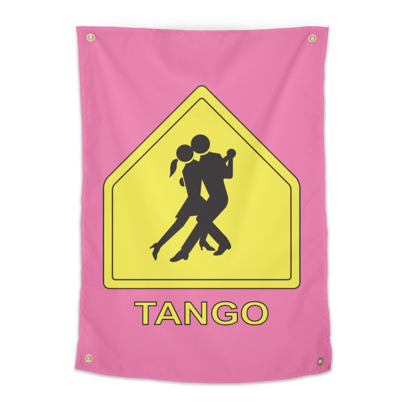 TANGO ZONE Home Tapestry by CAT IN ORBIT Artist Shop