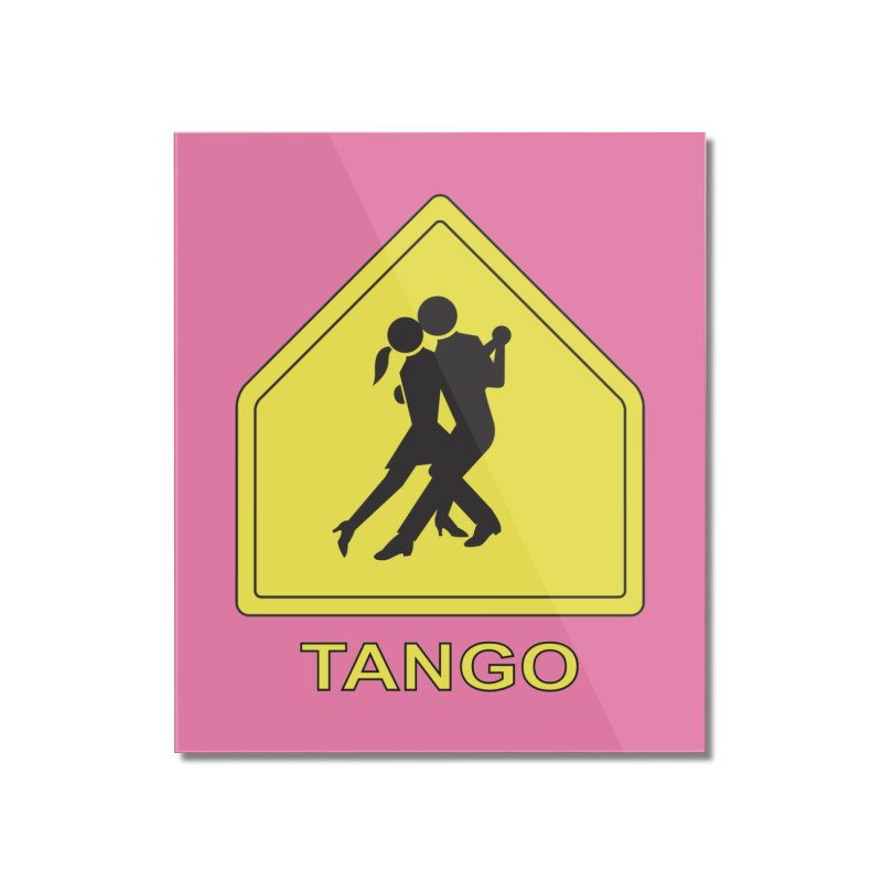 TANGO ZONE Home Mounted Acrylic Print by CAT IN ORBIT Artist Shop