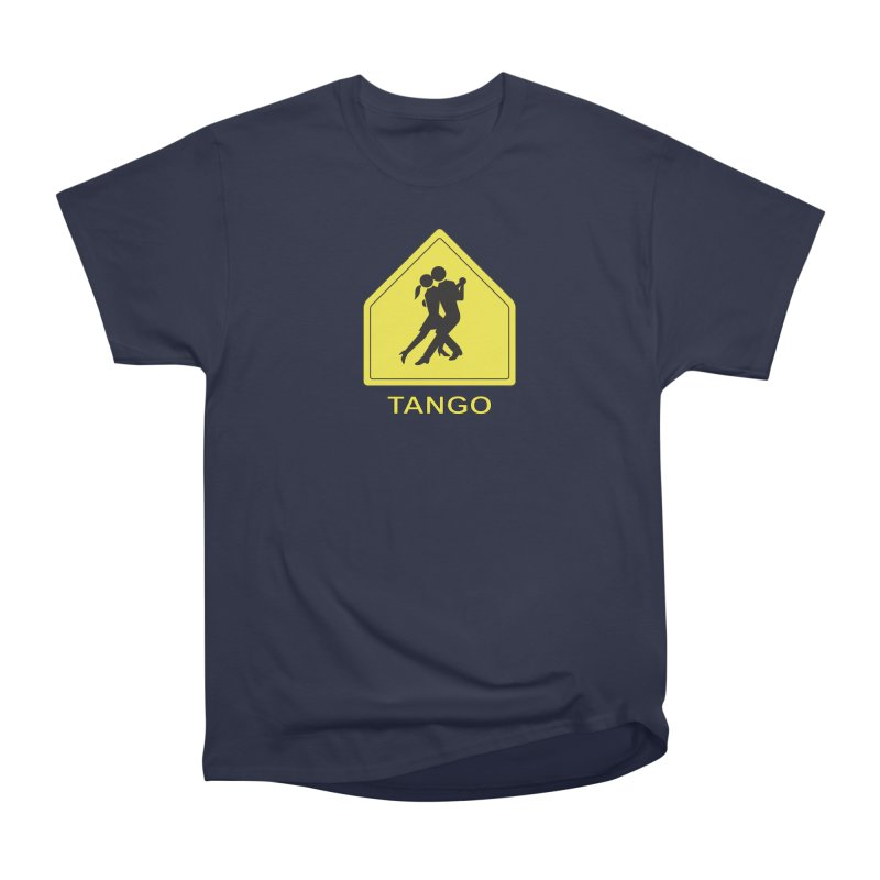 TANGO ZONE Women's Classic Unisex T-Shirt by CAT IN ORBIT Artist Shop