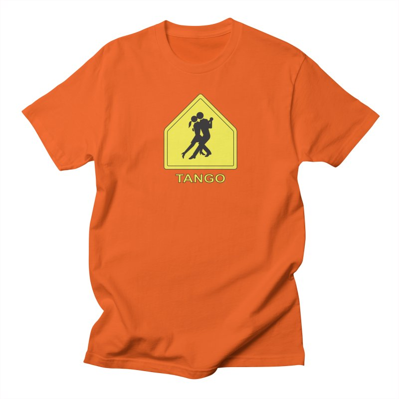 TANGO ZONE Women's Unisex T-Shirt by CAT IN ORBIT Artist Shop