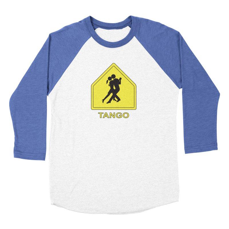 TANGO ZONE Men's Baseball Triblend T-Shirt by CAT IN ORBIT Artist Shop