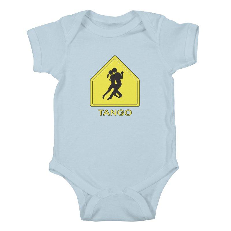 TANGO ZONE Kids Baby Bodysuit by CAT IN ORBIT Artist Shop