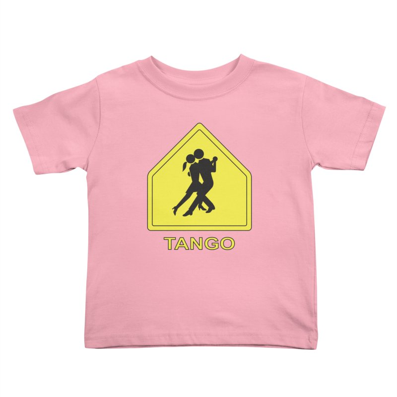 TANGO ZONE Kids Toddler T-Shirt by CAT IN ORBIT Artist Shop