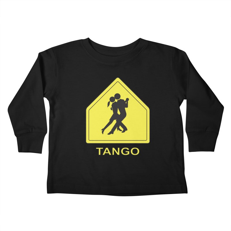 TANGO ZONE Kids Toddler Longsleeve T-Shirt by CAT IN ORBIT Artist Shop