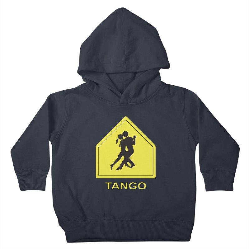 TANGO ZONE Kids Toddler Pullover Hoody by CAT IN ORBIT Artist Shop