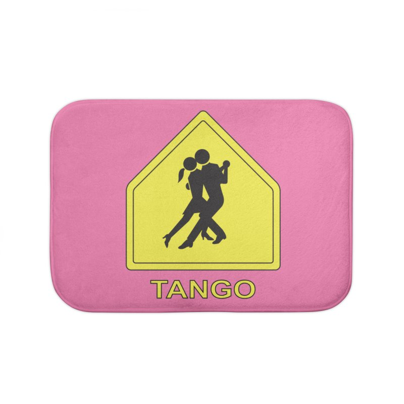 TANGO ZONE Home Bath Mat by CAT IN ORBIT Artist Shop