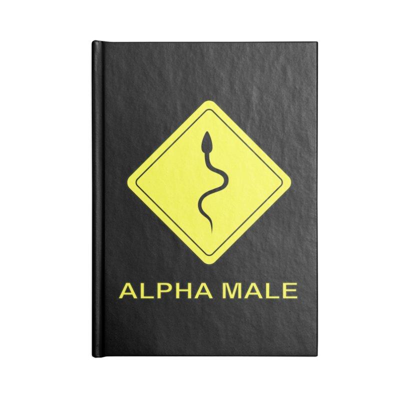 ALPHA MALE Accessories Notebook by CAT IN ORBIT Artist Shop