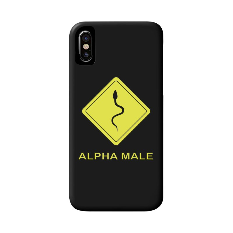 ALPHA MALE Accessories Phone Case by CAT IN ORBIT Artist Shop