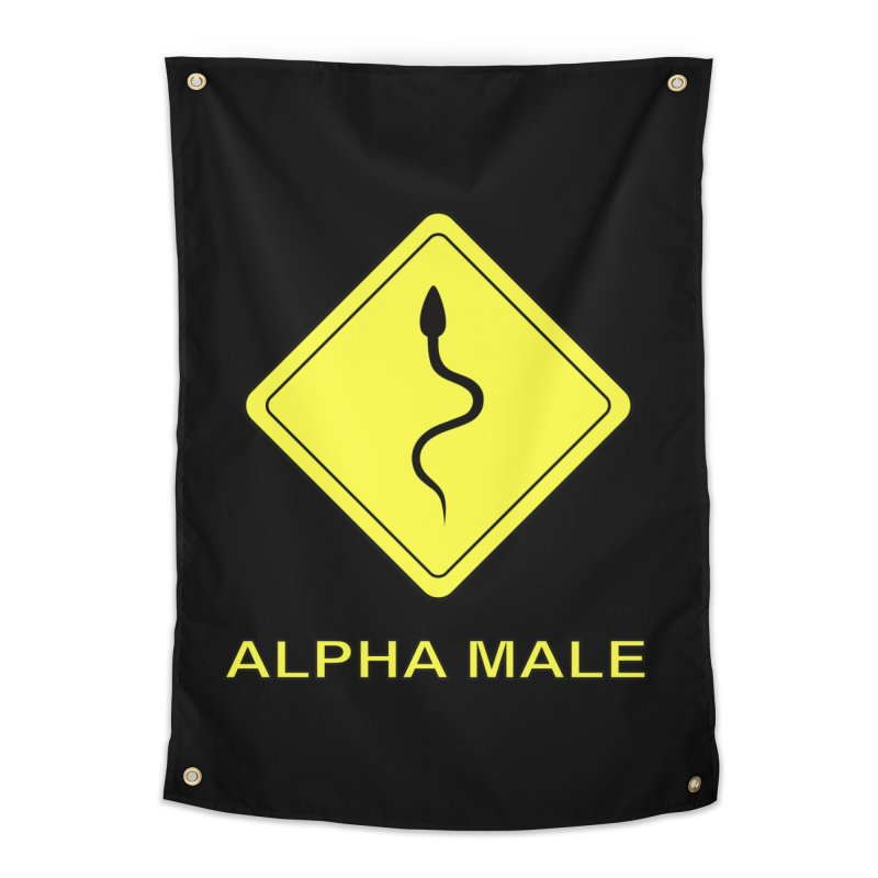 ALPHA MALE Home Tapestry by CAT IN ORBIT Artist Shop