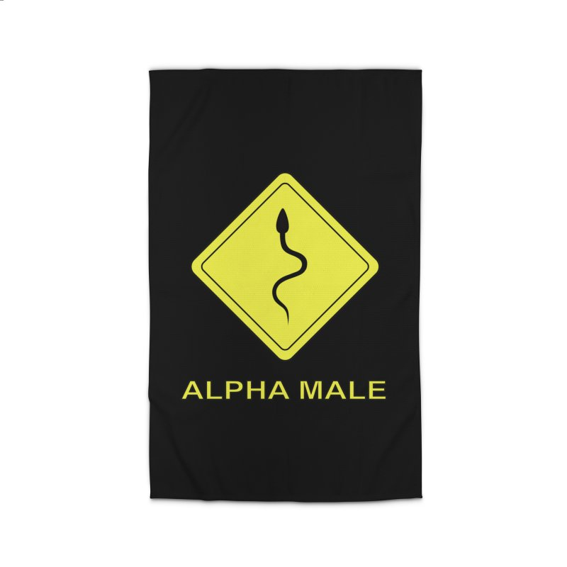 ALPHA MALE Home Rug by CAT IN ORBIT Artist Shop