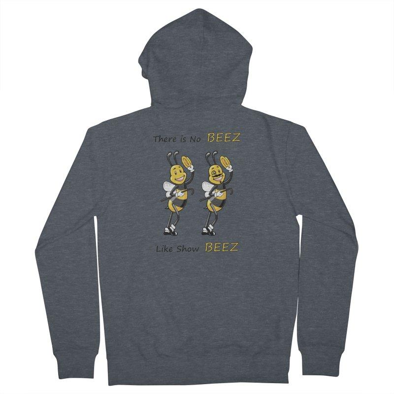 THERE IS NO BEEZ, LIKE SHOW BEEZ Men's Zip-Up Hoody by CAT IN ORBIT Artist Shop