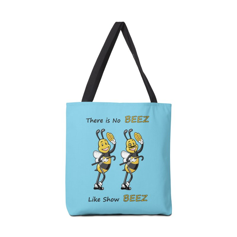 THERE IS NO BEEZ, LIKE SHOW BEEZ Accessories Bag by CAT IN ORBIT Artist Shop