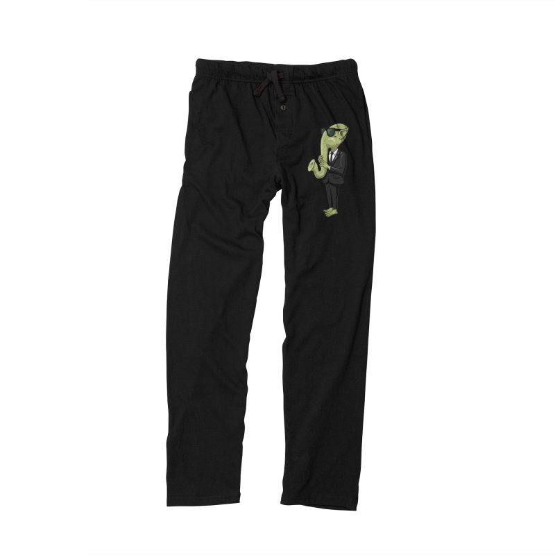 ALIEN SAX PLAYER Men's Lounge Pants by CAT IN ORBIT Artist Shop