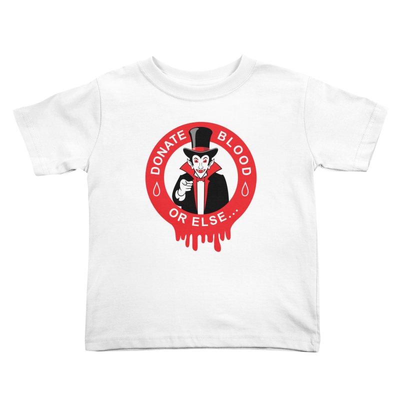 DONATE BLOOD Kids Toddler T-Shirt by CAT IN ORBIT Artist Shop