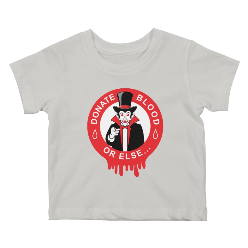 DONATE BLOOD Kids Baby T-Shirt by CAT IN ORBIT Artist Shop