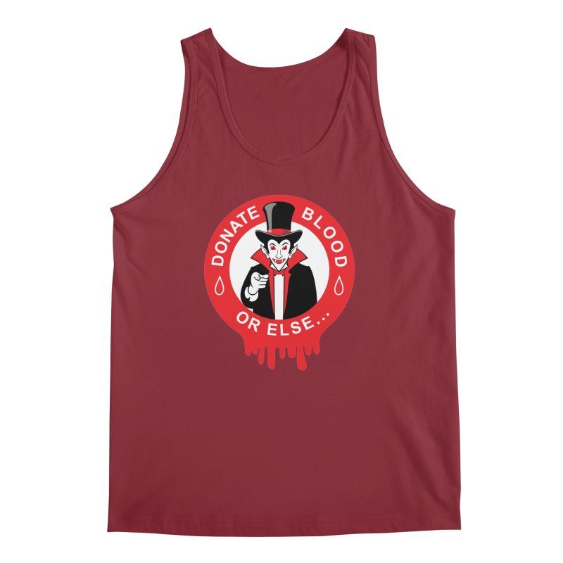 DONATE BLOOD Men's Tank by CAT IN ORBIT Artist Shop