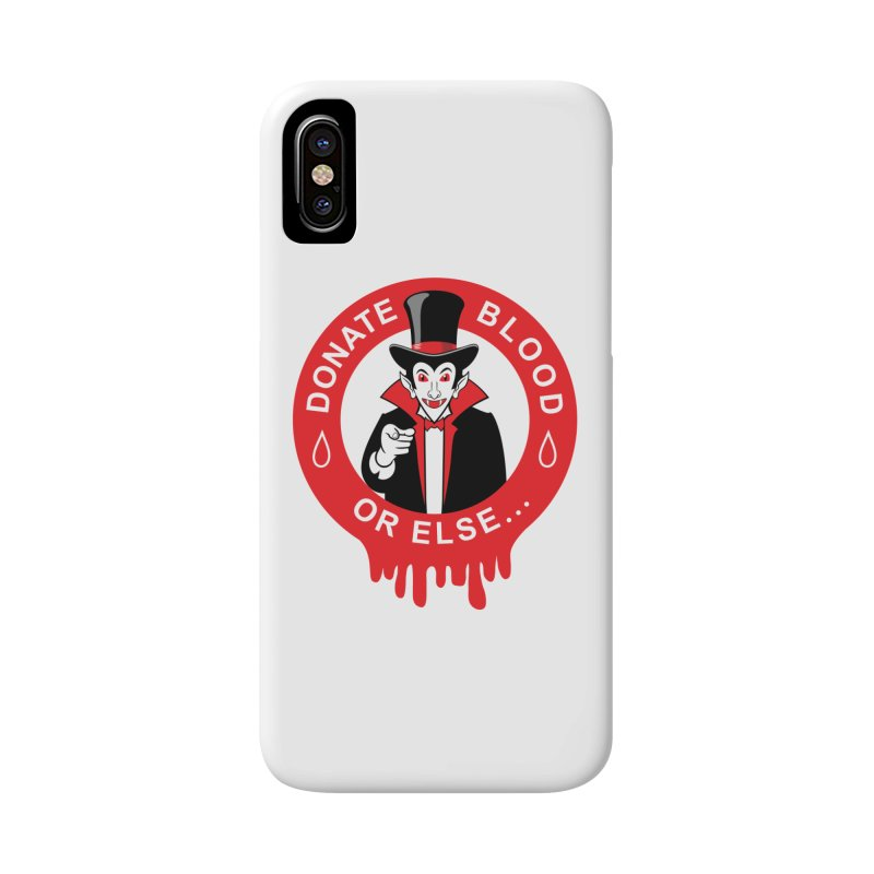 DONATE BLOOD Accessories Phone Case by CAT IN ORBIT Artist Shop