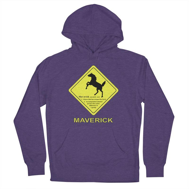 MAVERICK Men's Pullover Hoody by CAT IN ORBIT Artist Shop