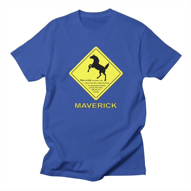 MAVERICK Women's Unisex T-Shirt by CAT IN ORBIT Artist Shop