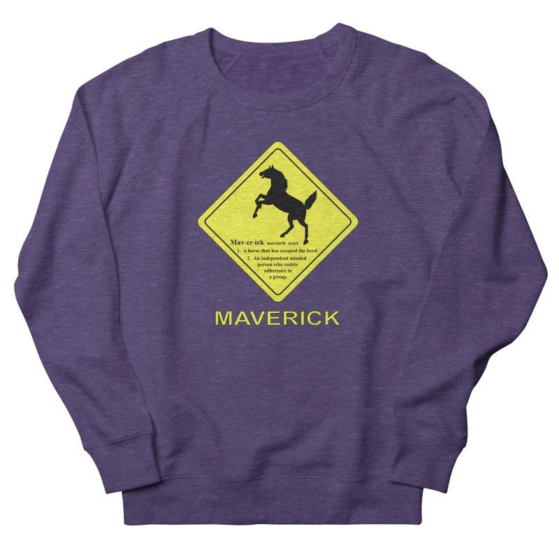 MAVERICK Women's Sweatshirt by CAT IN ORBIT Artist Shop