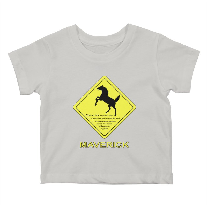 MAVERICK Kids Baby T-Shirt by CAT IN ORBIT Artist Shop