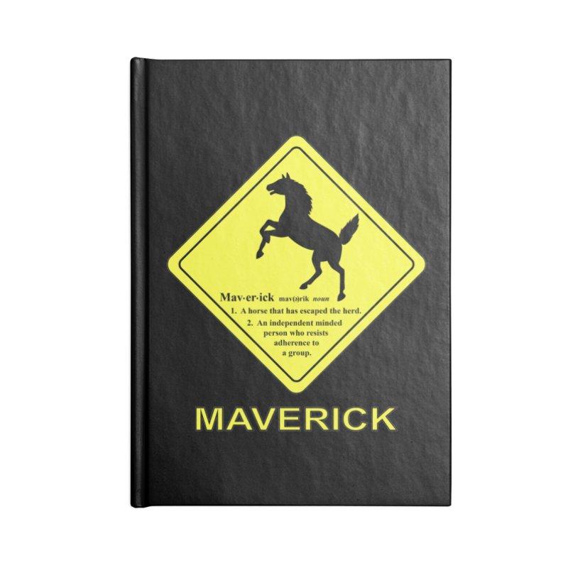 MAVERICK Accessories Notebook by CAT IN ORBIT Artist Shop