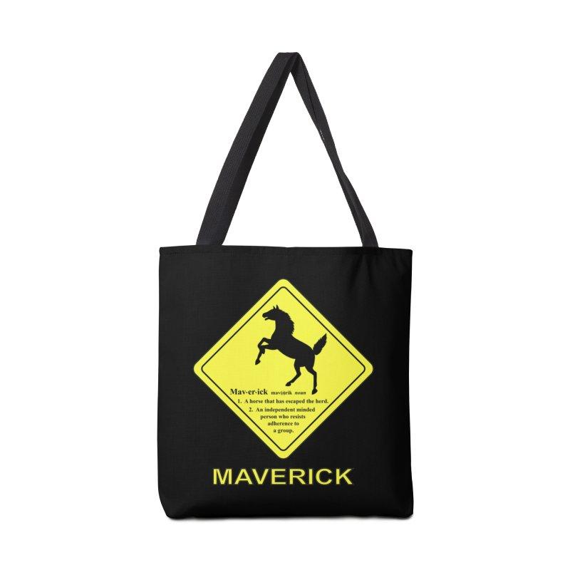 MAVERICK Accessories Bag by CAT IN ORBIT Artist Shop