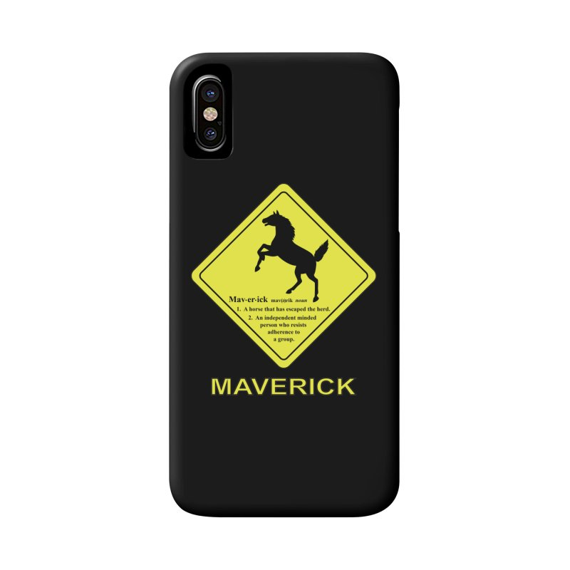 MAVERICK Accessories Phone Case by CAT IN ORBIT Artist Shop