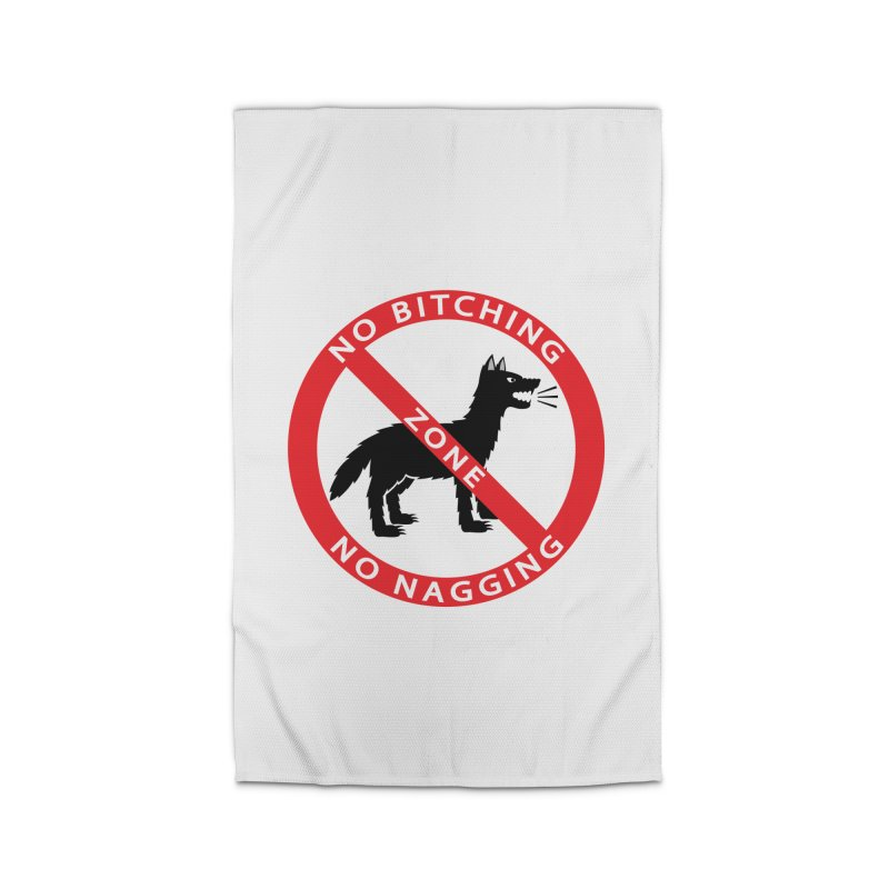 NO BITCHING, NO NAGGING ZONE Home Rug by CAT IN ORBIT Artist Shop