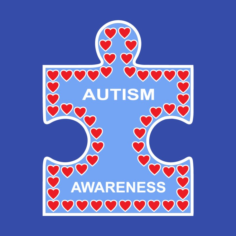 AUTISM AWARENESS by CAT IN ORBIT Artist Shop