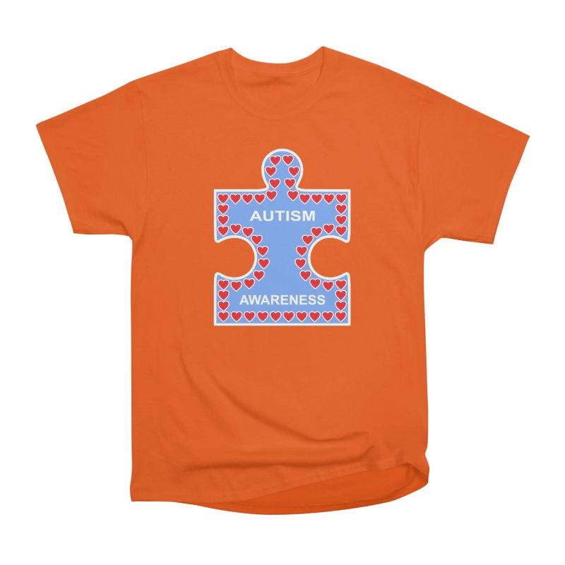 AUTISM AWARENESS Men's Classic T-Shirt by CAT IN ORBIT Artist Shop