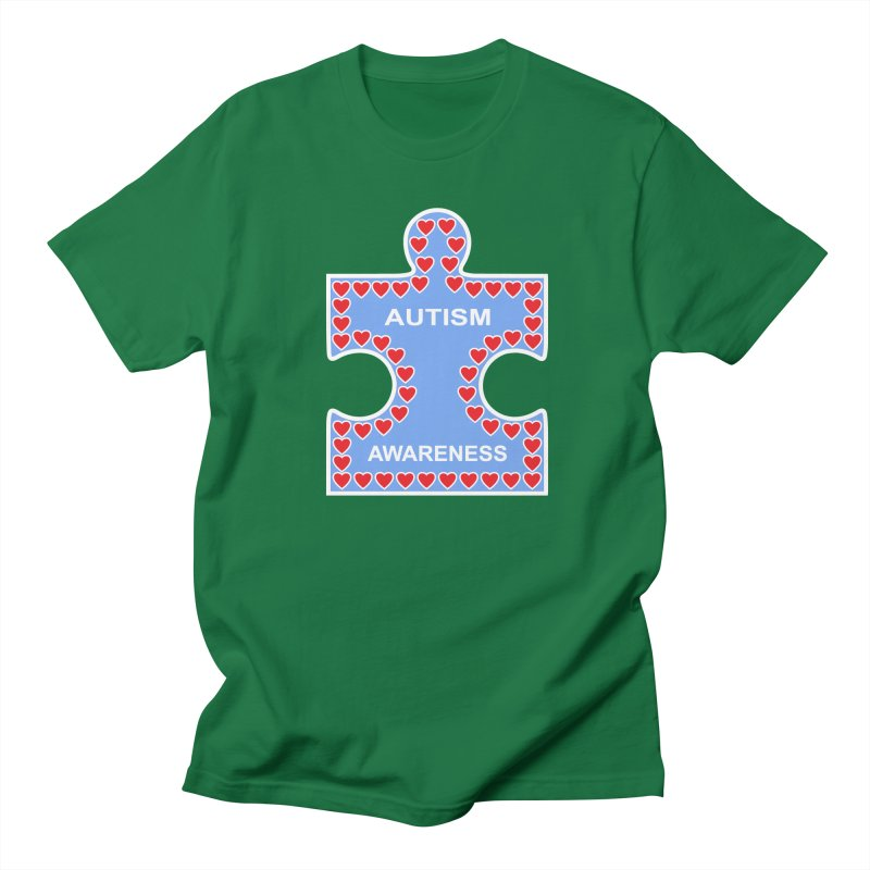 AUTISM AWARENESS Women's Unisex T-Shirt by CAT IN ORBIT Artist Shop