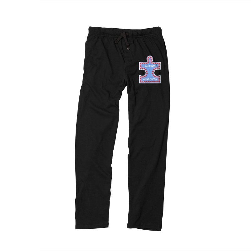 AUTISM AWARENESS Men's Lounge Pants by CAT IN ORBIT Artist Shop