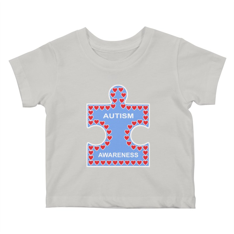 AUTISM AWARENESS Kids Baby T-Shirt by CAT IN ORBIT Artist Shop