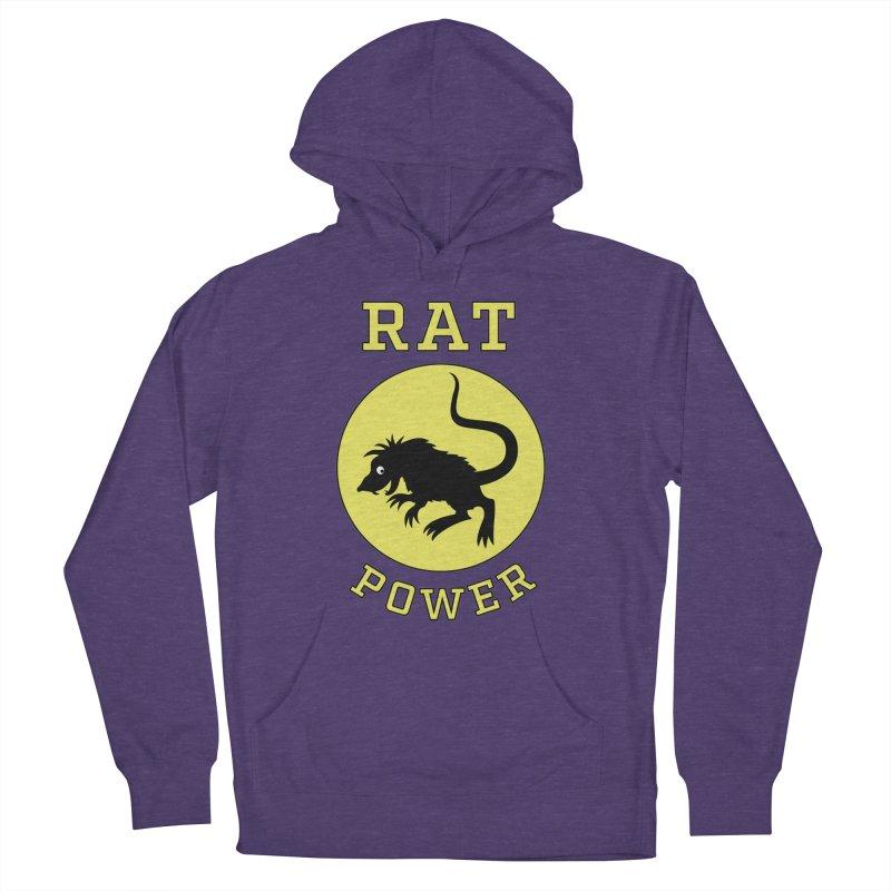 RAT POWER Men's Pullover Hoody by CAT IN ORBIT Artist Shop