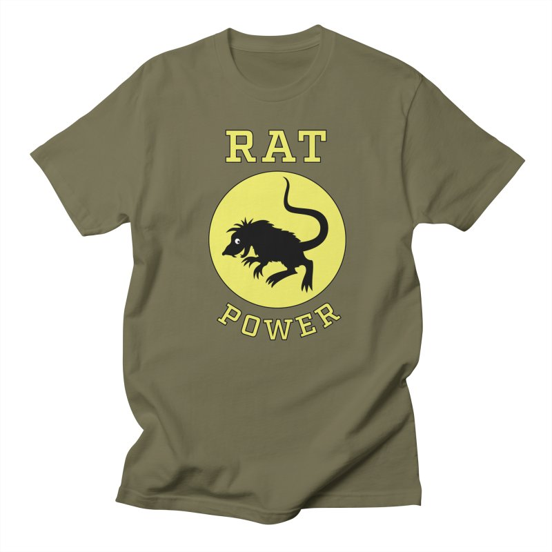 RAT POWER Women's Unisex T-Shirt by CAT IN ORBIT Artist Shop