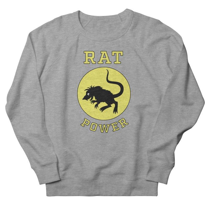 RAT POWER Women's Sweatshirt by CAT IN ORBIT Artist Shop