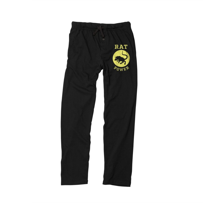 RAT POWER Men's Lounge Pants by CAT IN ORBIT Artist Shop
