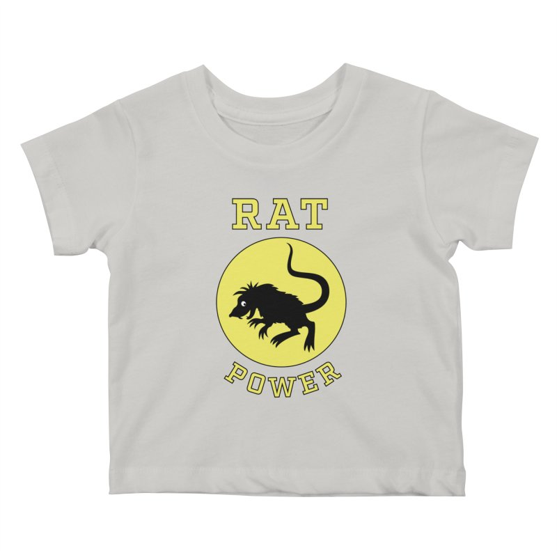 RAT POWER Kids Baby T-Shirt by CAT IN ORBIT Artist Shop