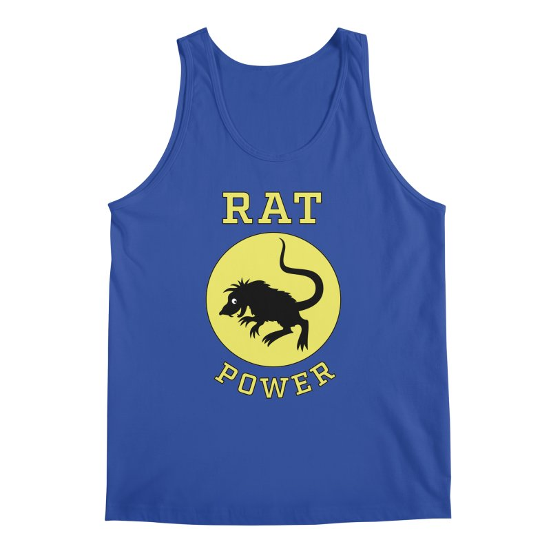RAT POWER Men's Tank by CAT IN ORBIT Artist Shop
