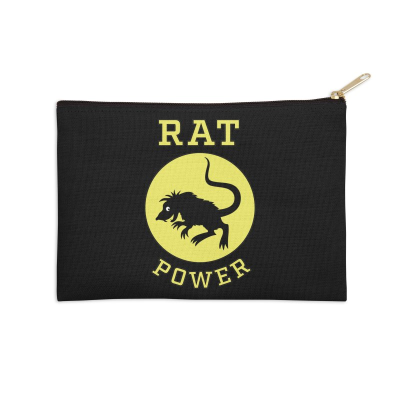 RAT POWER Accessories Zip Pouch by CAT IN ORBIT Artist Shop
