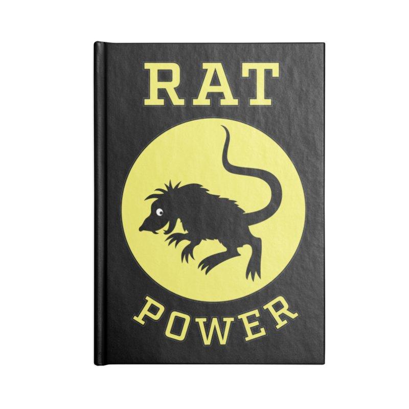 RAT POWER Accessories Notebook by CAT IN ORBIT Artist Shop